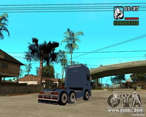Scania 164L 580 V8 Black Beaunty for GTA San Andreas right view
