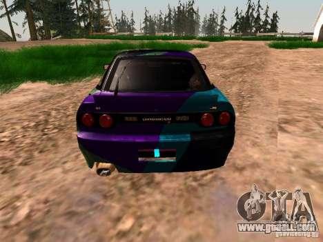 Nissan Sil80 Nate Hamilton for GTA San Andreas back view
