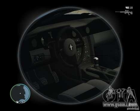 Ford Mustang GT 2005 v1.2 for GTA 4