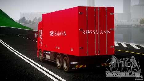 Scania R580 Tandem for GTA 4 inner view