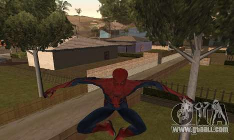 The Amazing Spider-Man Anim Test v1.0 for GTA San Andreas second screenshot