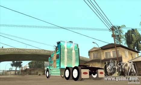 Peterbilt 387 skin 4 for GTA San Andreas right view