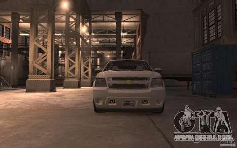 Chevrolet Avalanche v1.0 for GTA 4 back view