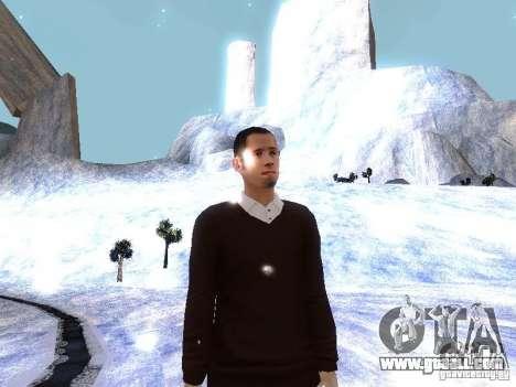 Snow MOD HQ V2.0 for GTA San Andreas tenth screenshot