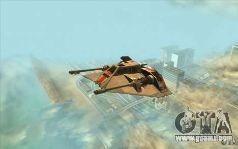 T-47 Snowspeeder for GTA San Andreas