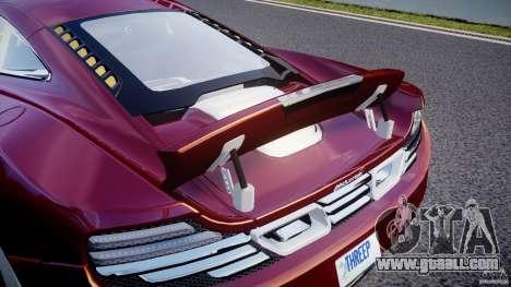 McLaren MP4-12C [EPM] for GTA 4 interior