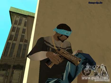 Golden Deagle for GTA San Andreas