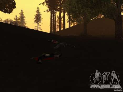 Pak domestic weapons version 2 for GTA San Andreas fifth screenshot