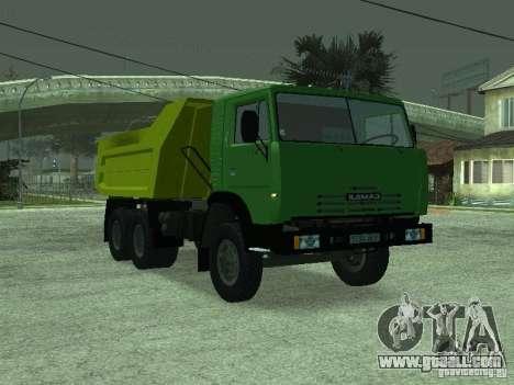 KAMAZ 55112 for GTA San Andreas