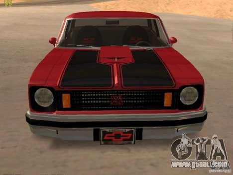 Chevrolet Nova Chucky for GTA San Andreas right view