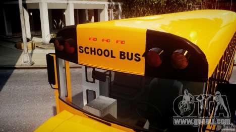 School Bus [Beta] for GTA 4 interior