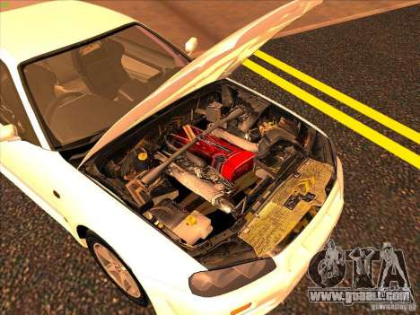 Nissan Skyline R34 Tunable for GTA San Andreas engine