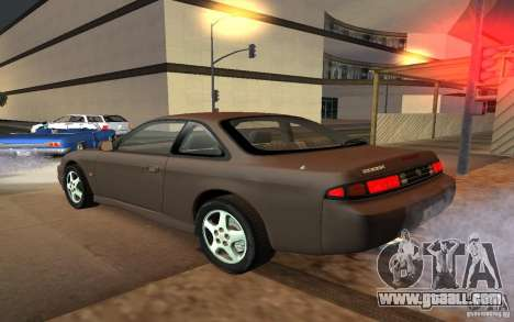 Nissan 200SX for GTA San Andreas left view