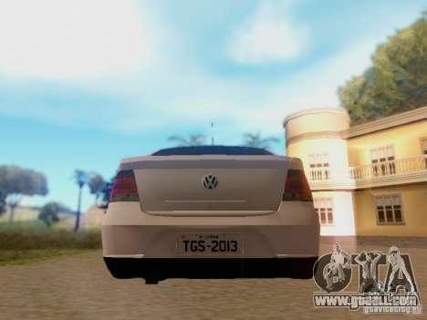 Volkswagen Voyage G5 Roda Passat CC for GTA San Andreas right view