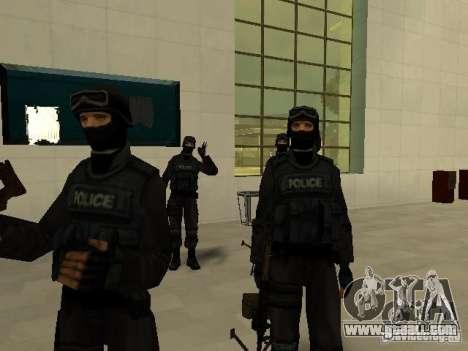 Help Swat for GTA San Andreas forth screenshot