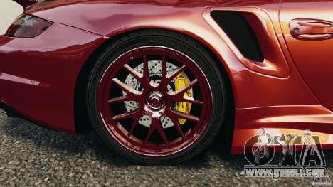 Porsche 997 GT2 Body Kit 1 for GTA 4 side view