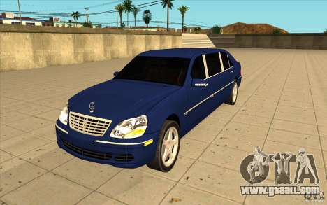 Mercedes-Benz S600 Pullman W220 for GTA San Andreas