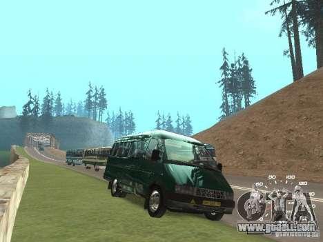 GAZ 32213 for GTA San Andreas right view