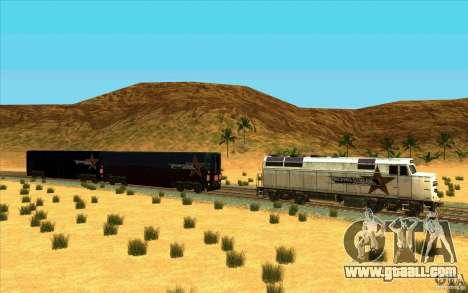 Unhooking of wagons for GTA San Andreas second screenshot