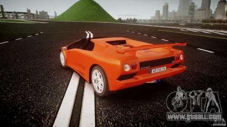 Lamborghini Diablo 6.0 VT for GTA 4 back left view