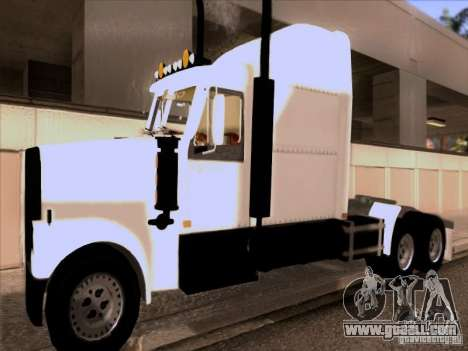 Western Star 4900EX skin 1 for GTA San Andreas left view