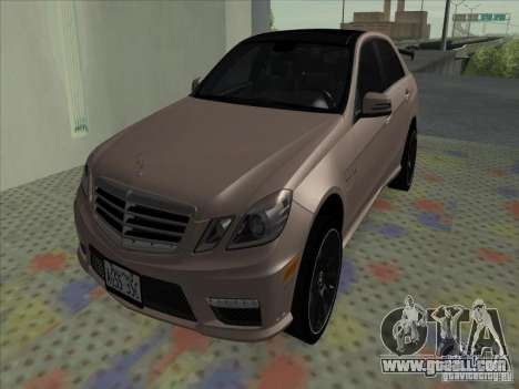 Mercedes-Benz E63 AMG Black Series Tune 2011 for GTA San Andreas
