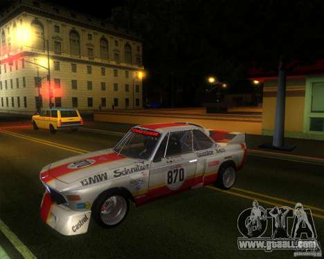 BMW CSL E9 for GTA San Andreas