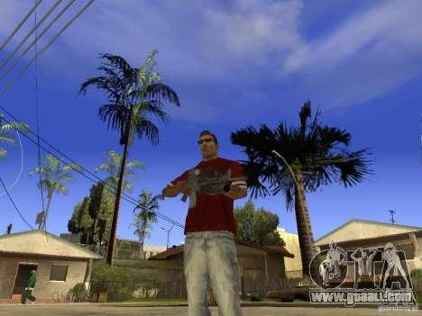 M4 Arma for GTA San Andreas second screenshot