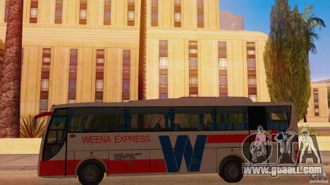 Weena Express for GTA San Andreas left view