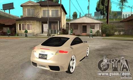 Audi TT Quattro 2007 for GTA San Andreas right view