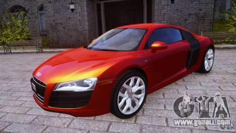 Audi R8 V10 for GTA 4