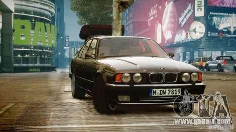 BMW M5 (E34) 1995 v1.0 for GTA 4