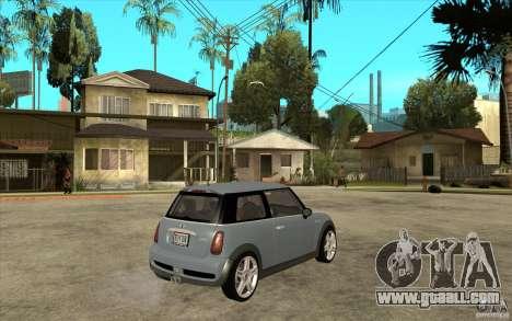 Mini Cooper - Stock for GTA San Andreas right view
