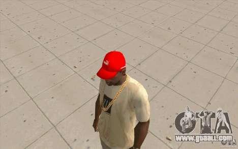Puma Cap bright red for GTA San Andreas