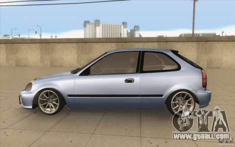 Honda Civic EK9 JDM v1.0 for GTA San Andreas left view