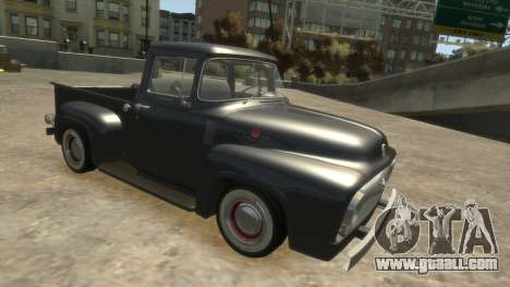 Ford F-100 1954 for GTA 4 left view