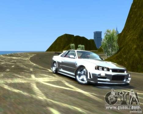 Rocky Drift Island for GTA 4 second screenshot