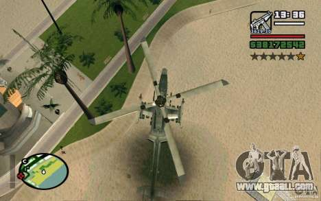 Bell AH-1Z Viper for GTA San Andreas right view