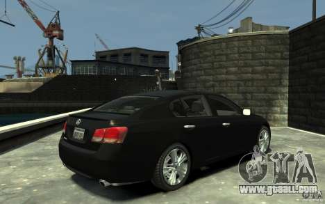 Lexus GS450 2006 for GTA 4 right view