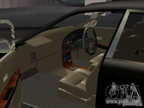 Nissan President JS for GTA San Andreas inner view