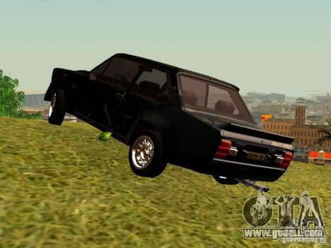 Fiat 131 Abarth Rally for GTA San Andreas right view