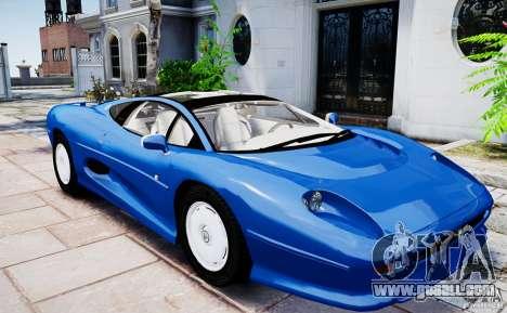 Jaguar XJ 220 for GTA 4 right view