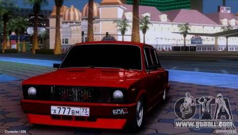 VAZ 2107 car tuning for GTA San Andreas