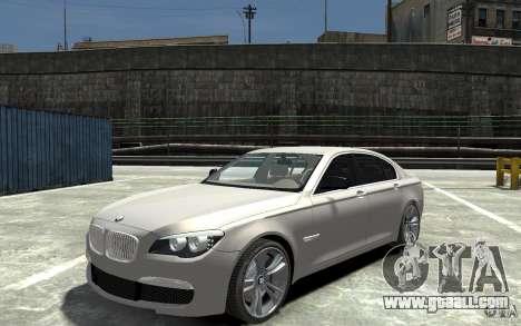 BMW 750i F01 v3 for GTA 4