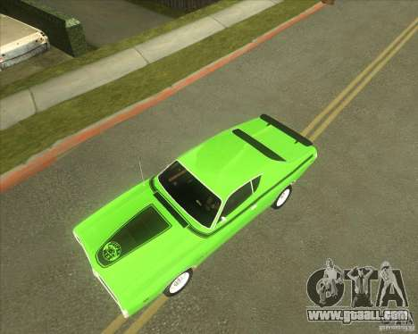 1971 Dodge Charger Super Bee for GTA San Andreas inner view