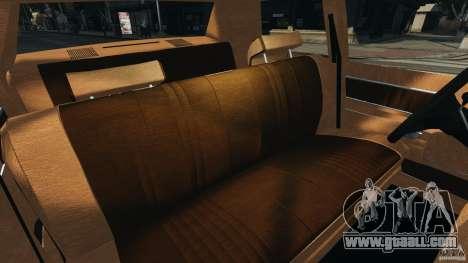 Dodge Monaco 1974 Taxi v1.0 for GTA 4 inner view
