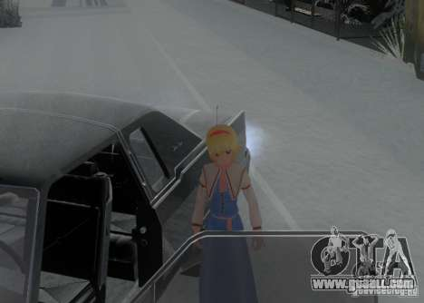 Anime Characters for GTA San Andreas seventh screenshot
