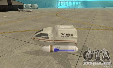 Shuttle-NCC-74656 for GTA San Andreas left view