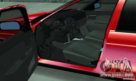 Lada Priora for GTA San Andreas upper view