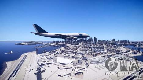 Pan Am Conversion for GTA 4 right view